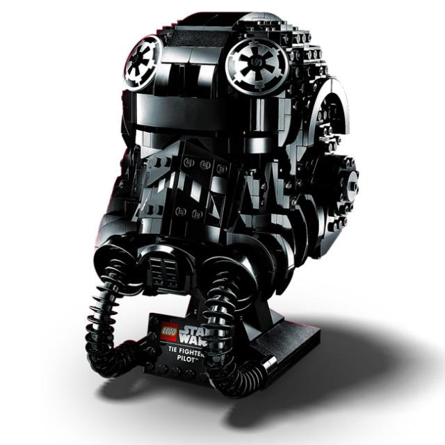 レゴ(LEGO) スターウォーズ タイ・ファイター パイロットのヘルメット おもちゃ ブロック 75274(20y12m)