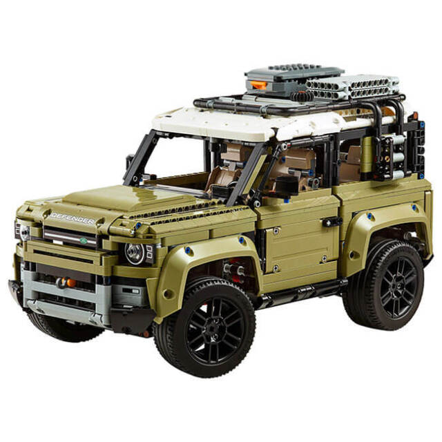レゴ(LEGO) テクニック ランドローバー ディフェンダー おもちゃ ブロック 42110(20y11m)