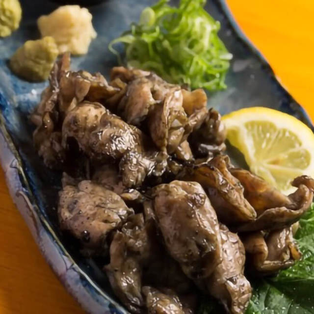鶏料理屋とりっくが作った鶏の炭火焼き ハラミ はらみ(塩味/タレ味) (20y4m)