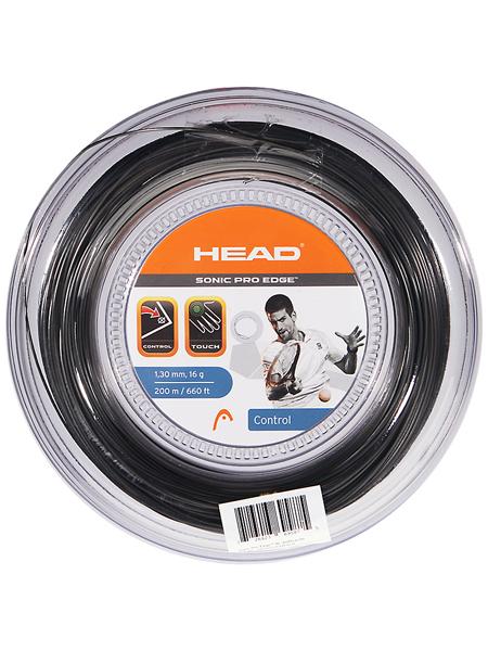 ヘッド ソニックプロ エッジ(1.25mm/1.30mm) 200Mロール 硬式テニスガットポリエステルガットHead Sonic Pro Edge 200m roll strings