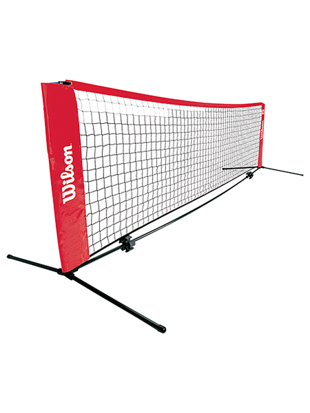 【いつでも子供とテニスやバドミントンができます♪】ウィルソン スターターテニスネット3M (Wilson Starter Tennis Net 10feet) WRZ2571