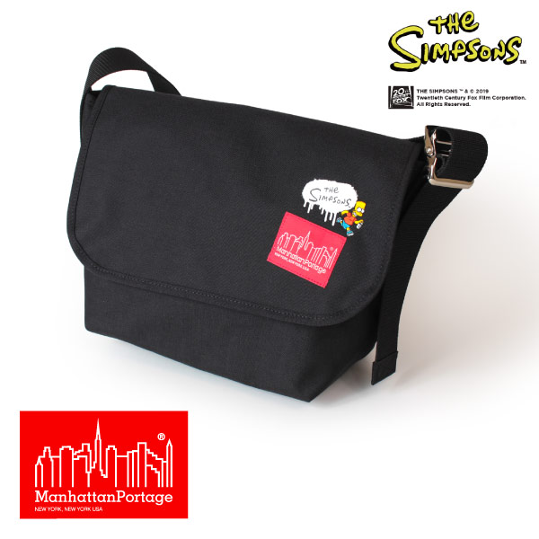 (マンハッタンポーテージ) Manhattan Portage ×The Simpsons Vintage Messenger Bag JR MP1606VJRSIMPSONS