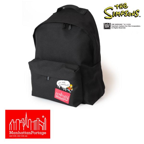 (マンハッタンポーテージ) Manhattan Portage ×The Simpsons リュック リュックサック デイパック Big Apple Backpack MP1210SIMPSONS