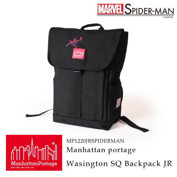 (マンハッタンポーテージ) Manhattan Portage × SPIDER-MAN Washington SQ Backpack JR MP1220JRSPIDERMAN