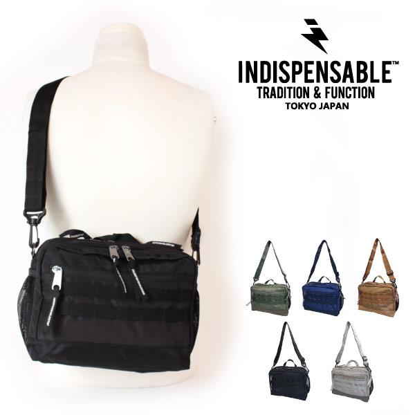 (インディスペンサブル) INDISPENSABLE ミニショルダーバッグ 斜めがけ 4L IDP MINI SHOULDER BAG DINKY