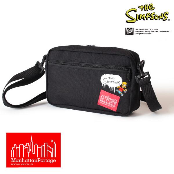 (マンハッタンポーテージ) Manhattan Portage ×The Simpsons ショルダーバッグ 斜めがけ ジョガーバッグ Jogger Bag MP1404LSIMPSONS