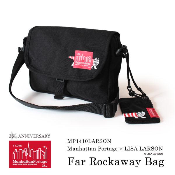 (マンハッタンポーテージ) Manhattan Portage リサラーソン ショルダーバッグ 斜めがけ Lisa Larson MP1410LARSON