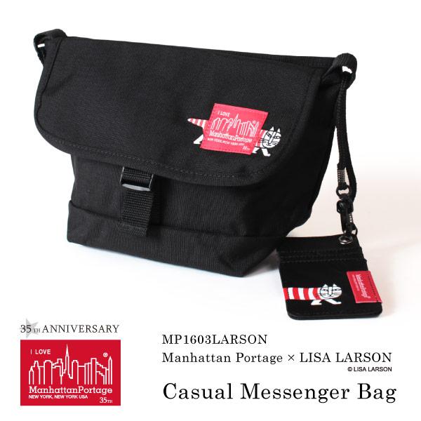 (マンハッタンポーテージ) Manhattan Portage リサラーソン メッセンジャーバッグ Lisa Larson MP1603LARSON
