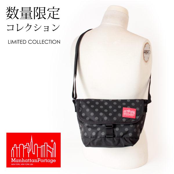 (マンハッタンポーテージ) Manhattan Portage メッセンジャーバッグ ショルダーバッグ Casual Messenger Bag Dot Print MP1603PDDOT19