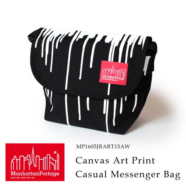(マンハッタンポーテージ) Manhattan Portage メッセンジャーバッグ ショルダーバッグ Canvas Art Print Casual Messenger Bag