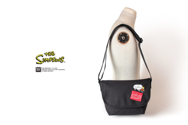 (マンハッタンポーテージ) Manhattan Portage ×The Simpsons Casual Messenger Bag JR MP1605JRSIMPSONS