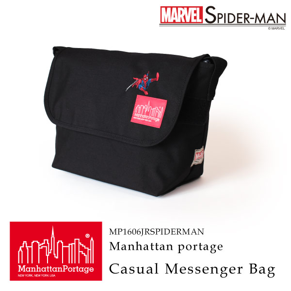 (マンハッタンポーテージ) Manhattan Portage × SPIDER-MAN Casual Messenger Bag MP1606JRSPIDERMAN
