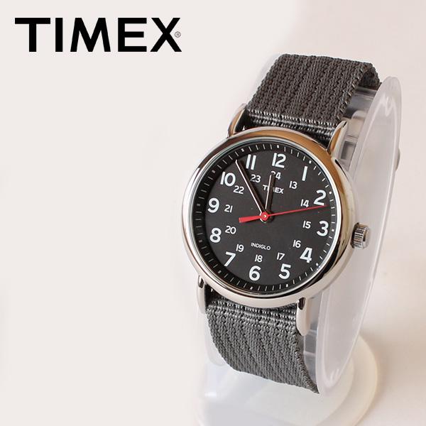 【即納】【送料無料】TIMEX タイメックス 腕時計 ウォッチ ウィークエンダーセントラルパーク ブラック×グレー