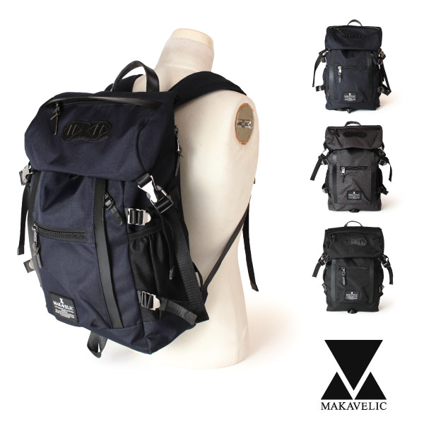 (マキャベリック) MAKAVELIC CHASE DOUBLE LINE BACKPACK