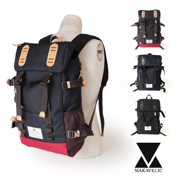 (マキャベリック) MAKAVELIC TRUCKS DOUBLE BELT ZONE MIX DAYPACK