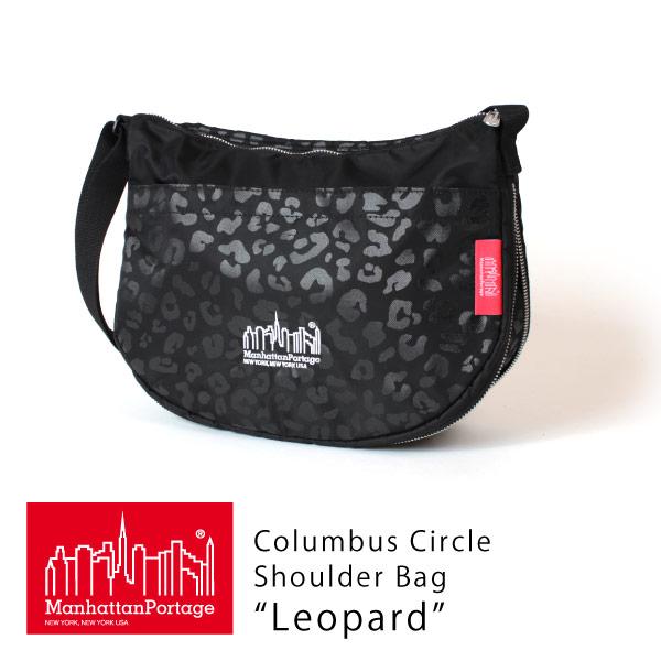 (マンハッタンポーテージ) Manhattan Portage Columbus Circle Shoulder Bag Leopard 2020 MP6053PDLEO20
