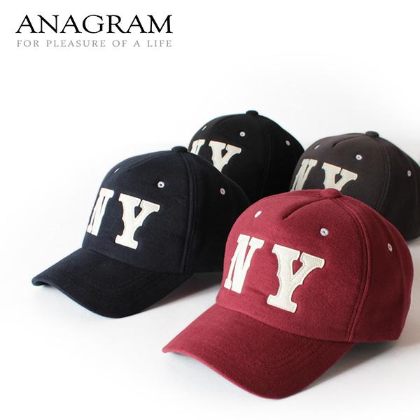 【即納】ANAGRAM アナグラム ベースボールキャップ 起毛ツイルCAP 帽子