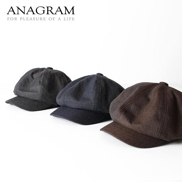 【即納】ANAGRAM アナグラム シャンブレーデニムキャスケット ニュースキャップ 帽子
