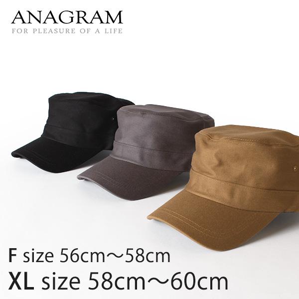【即納】ANAGRAM アナグラム ワークキャップ キャンバスCAP 帽子