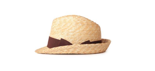 (アナグラム) ANAGRAM ストローハット 麦わら帽子 麦わらハット 中折れハット 大きいサイズ 帽子 UV対策