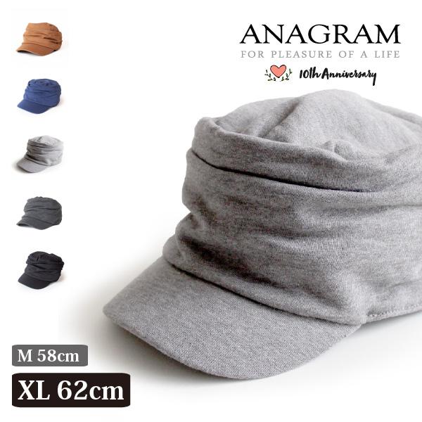(アナグラム) ANAGRAM ワークキャップ スウェットギャザーキャップ 帽子