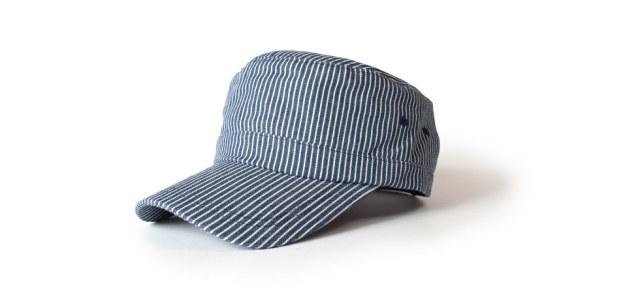 (アナグラム) ANAGRAM ヒッコリー シャンブレー ワークキャップ 大きいサイズ 帽子