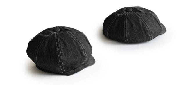 (アナグラム) ANAGRAM 2way デニムキャスケット ハンチング ニュースキャップ 大きいサイズ 帽子 XLサイズあり
