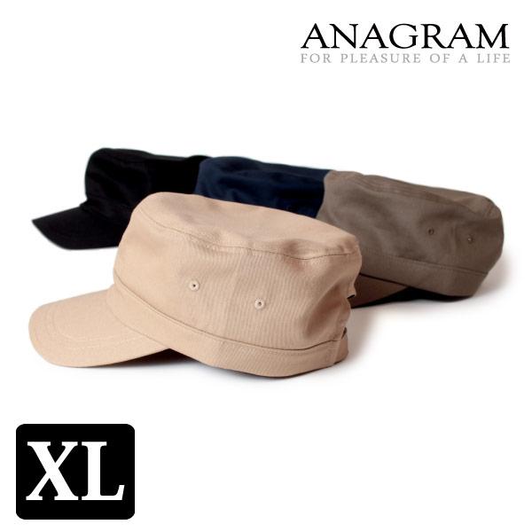 (アナグラム) ANAGRAM ツイル スタンダードワークキャップ 大きいサイズ ビッグサイズ キングサイズ 帽子