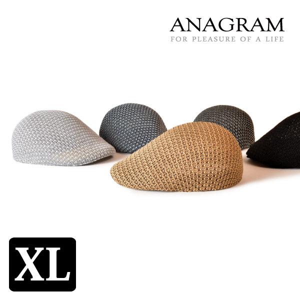 (アナグラム) ANAGRAM ハンチング エッグシルエット ジャカードサーモ ゴルフ 帽子 大きいサイズ 熱中症対策 紫外線対策 UV対策