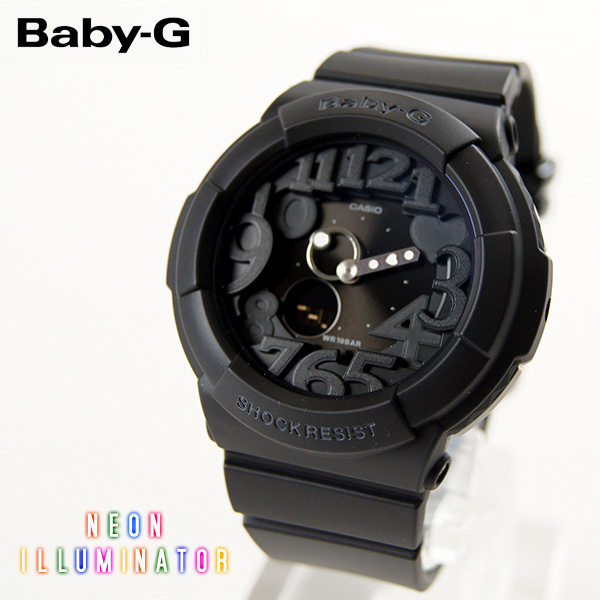 【即納】【送料無料】CASIO Baby-G カシオ ベビーG Neon Dial Series BGA-130 BGA-131 G-SHOCK腕時計 デジタル アナログ ブラック