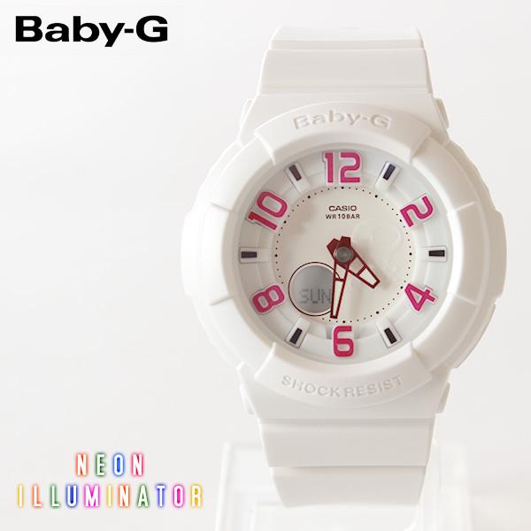 【即納】【送料無料】CASIO Baby-G カシオ ベビーG Neon Dial Series BGA-133-7BJF G-SHOCK腕時計 デジタル アナログ