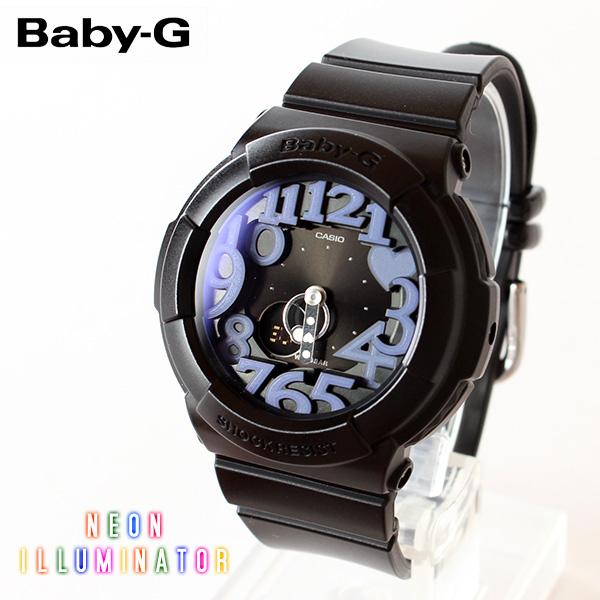 【即納】【送料無料】CASIO Baby-G カシオ ベビーG Neon Dial Series BGA-134-1BJF G-SHOCK腕時計 デジタル アナログ