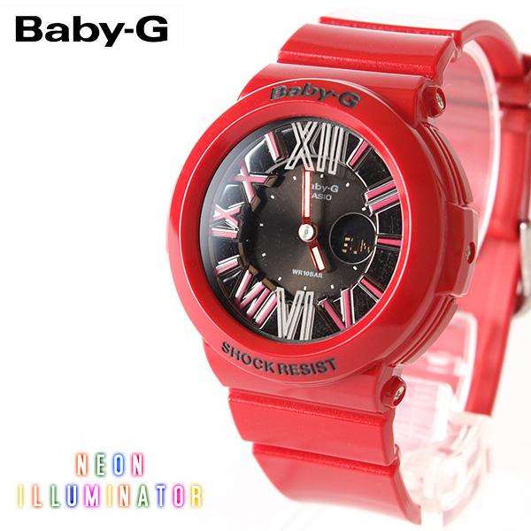 【即納】【送料無料】CASIO Baby-G カシオ ベビーG Neon Dial Series BGA-160-4BJF G-SHOCK腕時計 デジタル アナログ