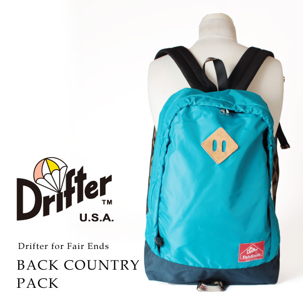 (ドリフター) Drifter Drifter for FairEnds リュックサック バックパック デイパック バックカントリーパック メンズ レディース