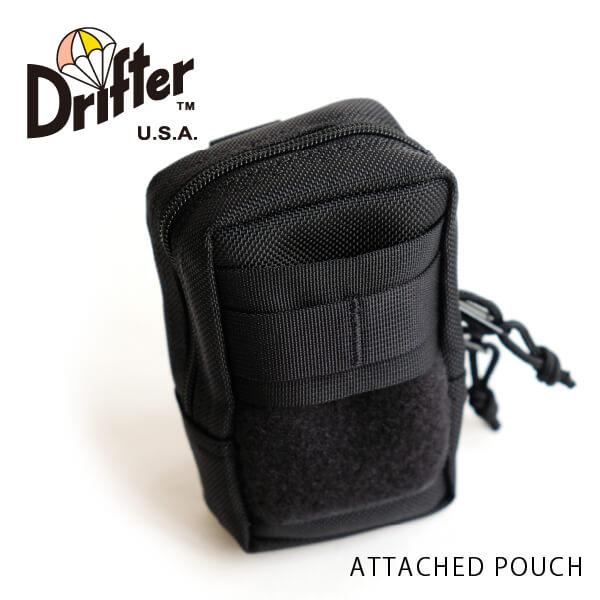 (ドリフター) Drifter アタッチドポーチ ATTACHED POUCH 小物収納 DFV0305