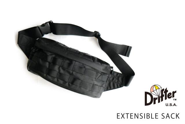 (ドリフター) Drifter EXTENSIBLE SACK エクステンシブルサック ボディバッグ DFV0570