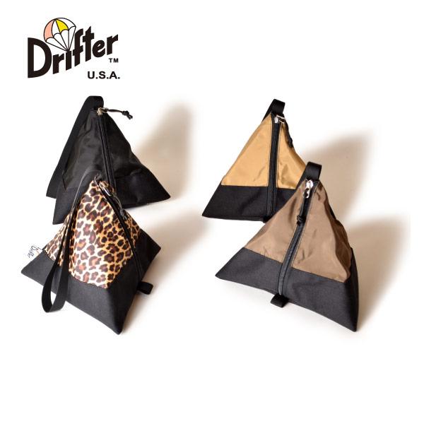 (ドリフター) Drifter テトラポーチ トライアングル型ポーチ TETRA POUCH DFV1230