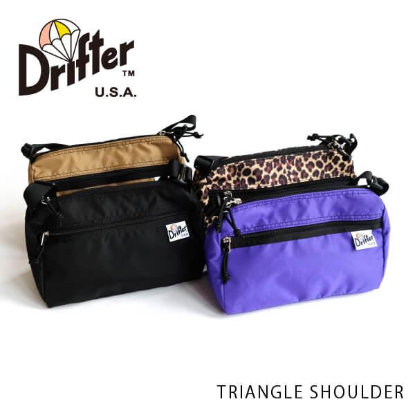 (ドリフター) Drifter トライアングルショルダー TRIANGLE SHOULDER ショルダーバッグ 斜めがけ DFV1250