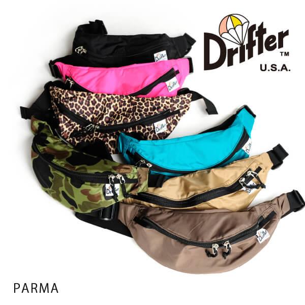 (ドリフター) Drifter PARMA パルマ ボディバッグ ファニーパック ウエストバッグ ヒップバッグ ウエストパック DFV1540