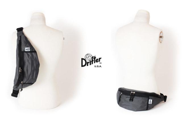 (ドリフター) Drifter ボディバッグ ウエストバッグ ヒップバッグ ウエストパック WAIST PACK DFV1550