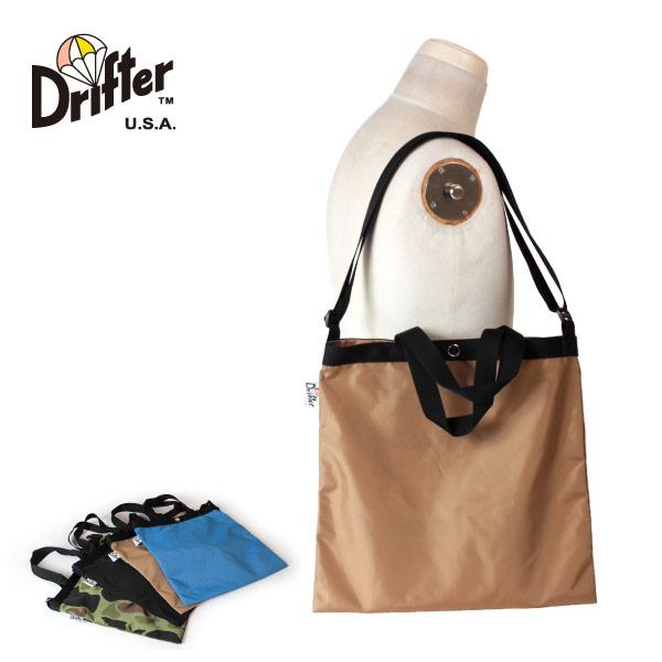 (ドリフター) Drifter エレメンタリートートバッグ ショルダーバッグ 2way メッシュバッグ ELEMENTARY TOTE DFV1615