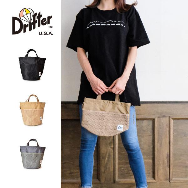 (ドリフター) Drifter バケットバッグ バケツ型バッグ ハンドバッグ 手提げバッグ BUCKET BAG DFV1625