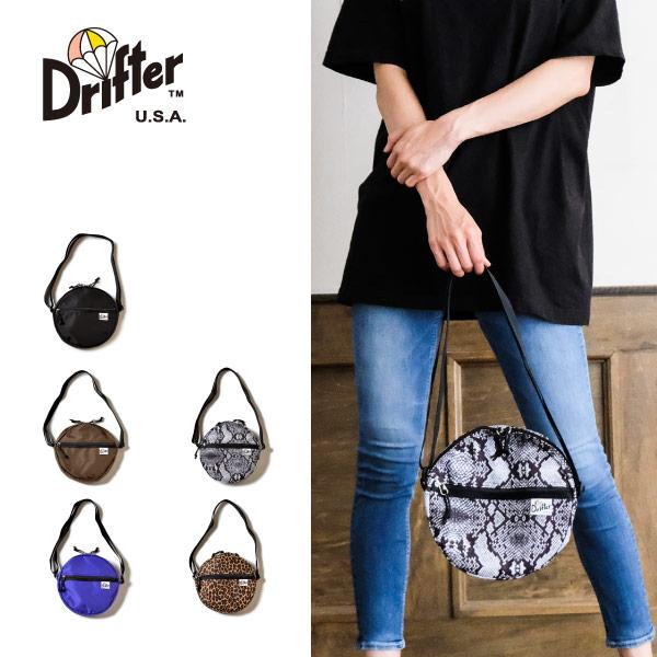 (ドリフター) Drifter サークルショルダーバッグ ミニショルダーバッグ CIRCLE SHOULDER DFV1760