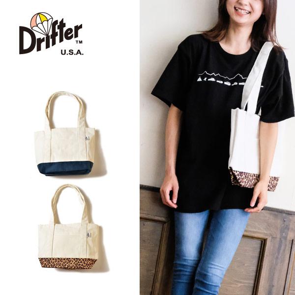 (ドリフター) Drifter キャンバストートバッグ Mサイズ CANVAS TOTE M 10L DFV3660