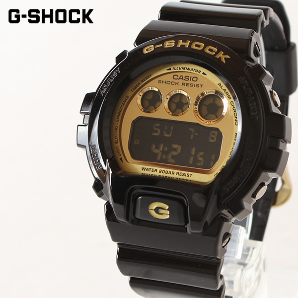 【即納】【送料無料】G-SHOCK G-ショック BLACK×GOLD デジタル メンズ腕時計 CRAZY COLORS クレイジーカラーズ DW-6900CB-1JF