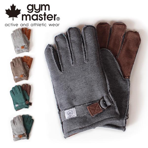 【即納】gym master ジムマスター スウェットグローブ 手袋 G921566