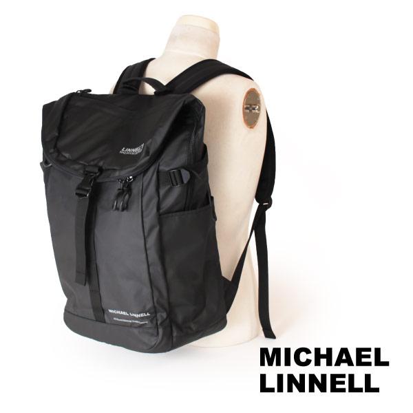 (マイケルリンネル) MICHAEL LINNELL リュックサック 31L A.R.M.Sシリーズ 多機能 メンズ ブラック MLAC-04