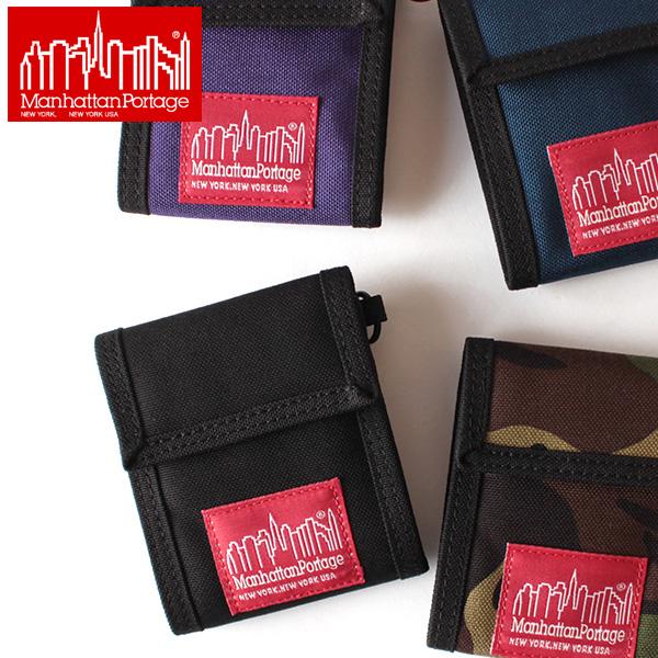 【即納】Manhattan Portage マンハッタンポーテージ 二つ折り財布 ウォレット マディソンウォレット Madison Wallet MP1012 【クロネコDM便対応/メール便送料無料】