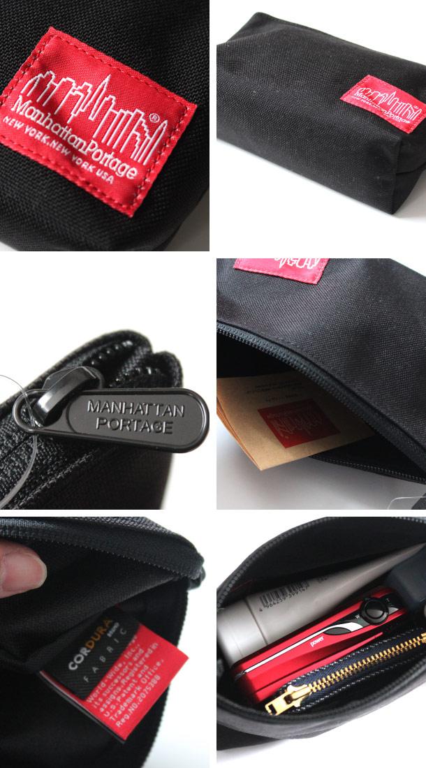 (マンハッタンポーテージ) Manhattan Portage ナイロンクラッチバッグ ポーチ Nylon Clutch Bag