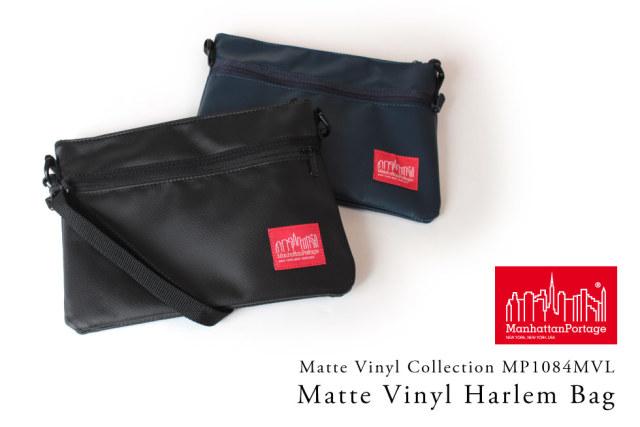 (マンハッタンポーテージ) Manhattan Portage Matte Vinyl Harlem Bag MP1084MVL